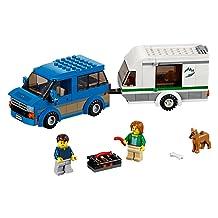Great Vehicles Van and Caravan