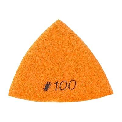 Specialty Diamond BRTTD100 Diamond Triangular Dry Pad, 100 Grit: Home Improvement