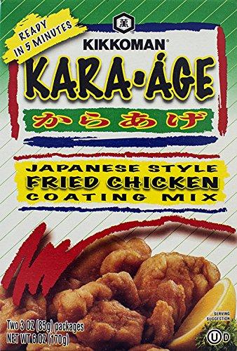 Kikkoman Kara Age Mix, 6-Ounce (Pack of 4) by Kikkoman