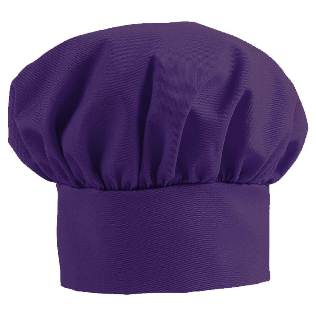 DayStar Apparel 800 Adult Chef Hat (12 Pack), Purple by DayStar Apparel