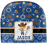 RNK Shops Blue Western Baby Hat (Beanie) (Personalized)