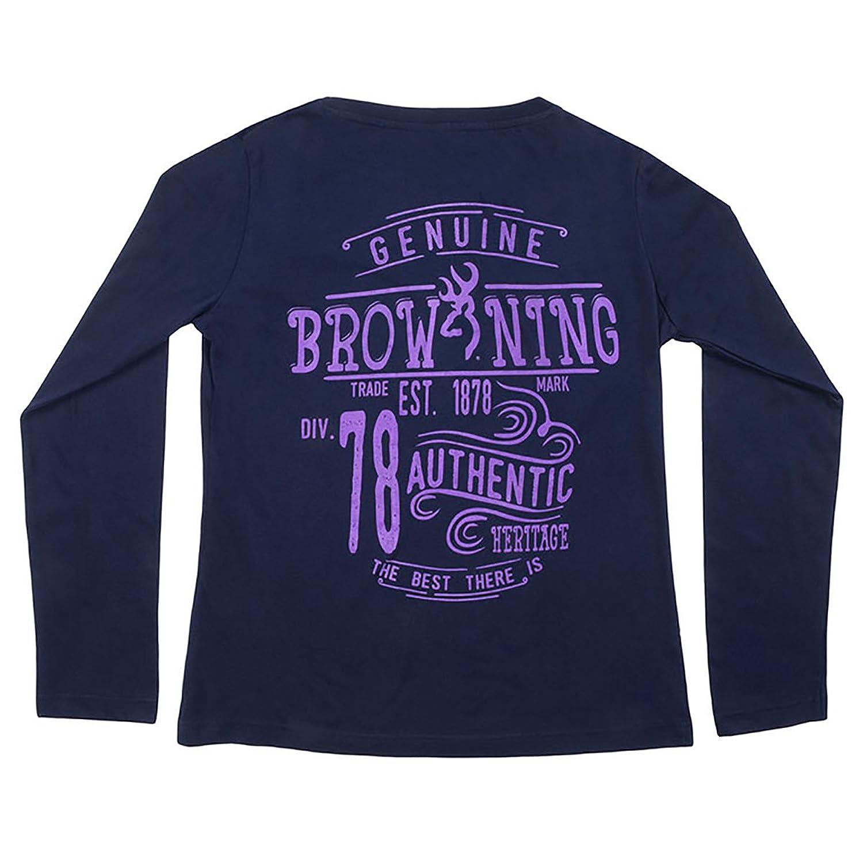 Browning Women's Buckheart Long Sleeve T-Shirt - A0002270201