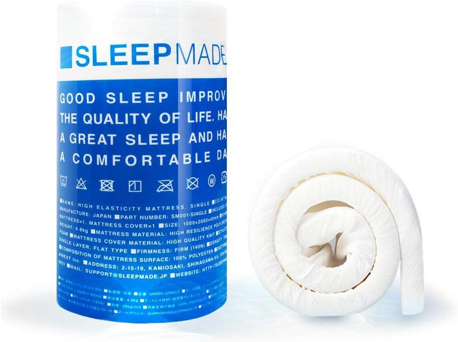 SLEEPMADE マットレス 高反発 シングル