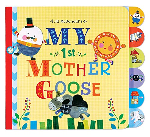 Gibby & Libby Mother Goose Tabbed Board Book by C.R. Gibson