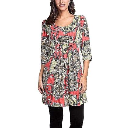 2228163dcd4d86 Amazon.com: Clearance! Women's Shirts Tops Plus Size, Jiayit Women 3 ...