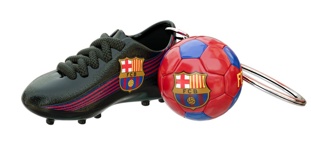 Llavero Bota Balón FCBARCELONA: Amazon.es: Deportes y aire libre