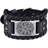 Viking Bracelet Adjustable Bangle - Mens...