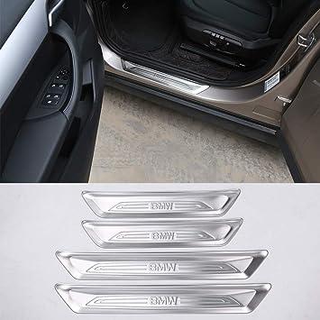 ZHANGDAN Battitacco Auto soglia davanzale Decorazione Scuff Guard Piastra soglia di Ingresso Porta Anti-Sporco Adatto per Suzuki Jimny 2019 2020