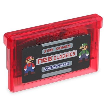 Amazon.com: Hip Hop Electronics 150 en 1 NES Retro Game Boy ...
