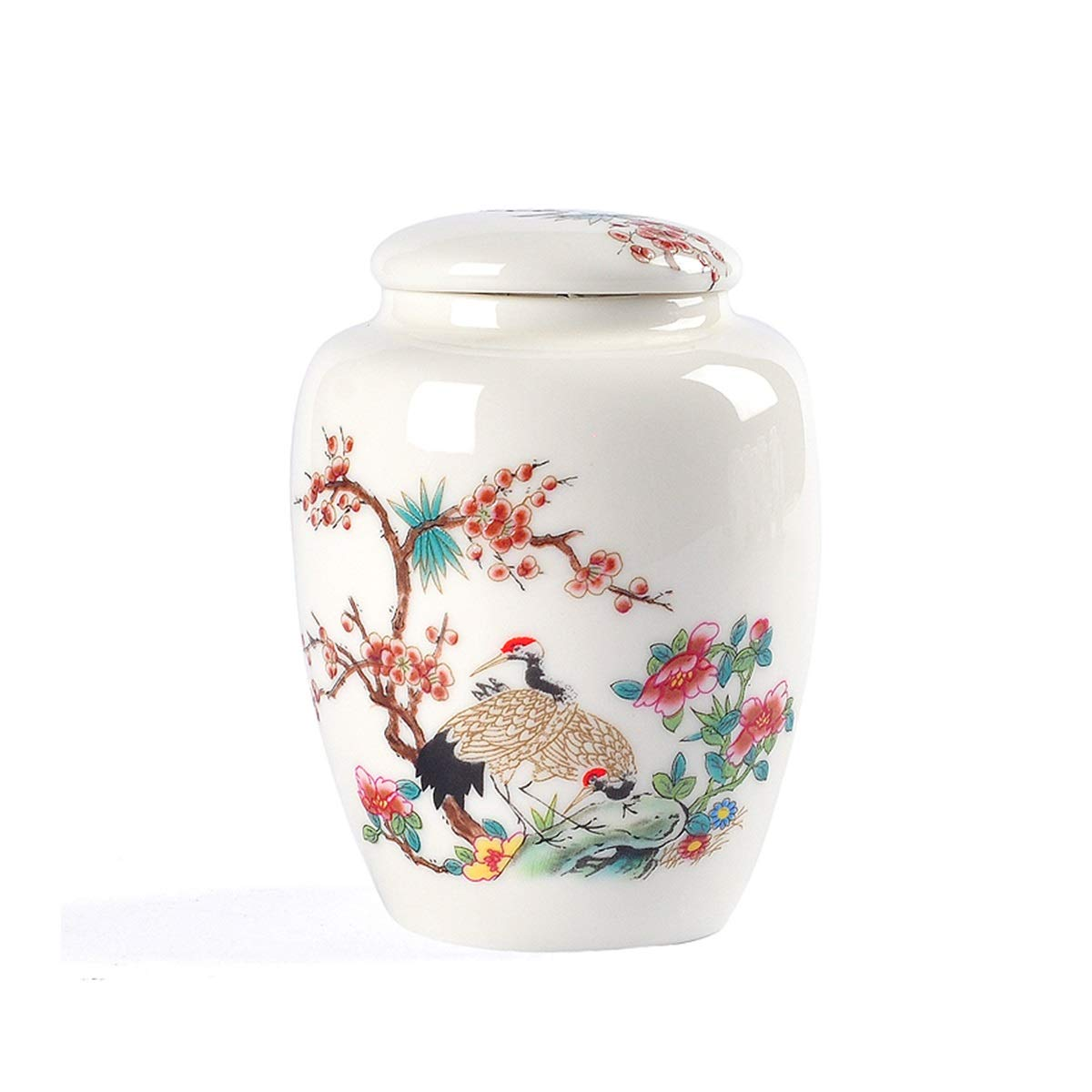 F 11.811.8cm F 11.811.8cm Hengtongtongxun Pet Urn,Cremation Urns for Pets,Functional Urn,Ceramic Sealed,Keepsake Box for Dogs and Cats,Tea Can,Artwork,Home Decoration,11.8  11.8cm Soul Place (Size   11.8  11.8cm, Style   F)