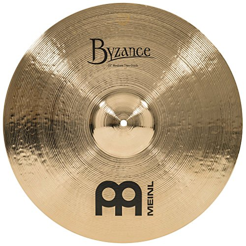 Meinl Cymbals B19MTC-B Byzance 19-Inch Brilliant Medium Thin Crash Cymbal (VIDEO) ()