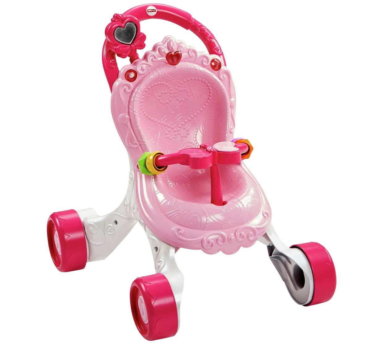 Fisher-Price - Andador musical para mamá de princesa: Amazon.es: Bebé