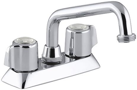 Kohler K15271bcp Coralais Laundry Sink Faucet Polished Chrome
