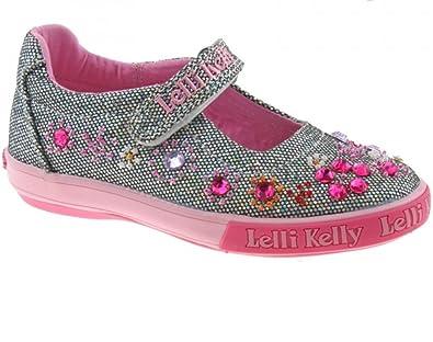 e6ec3c870d Lelli Kelly Rachele LK3110 Pewter Glitter Shoe: Amazon.co.uk: Shoes ...