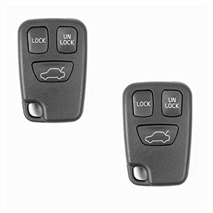 amazon com (just a key shell) tckey 2pcs replacement car key repair2003 Volvo C70 Remote Control Transmitter For Keyless Entry And Alarm #12