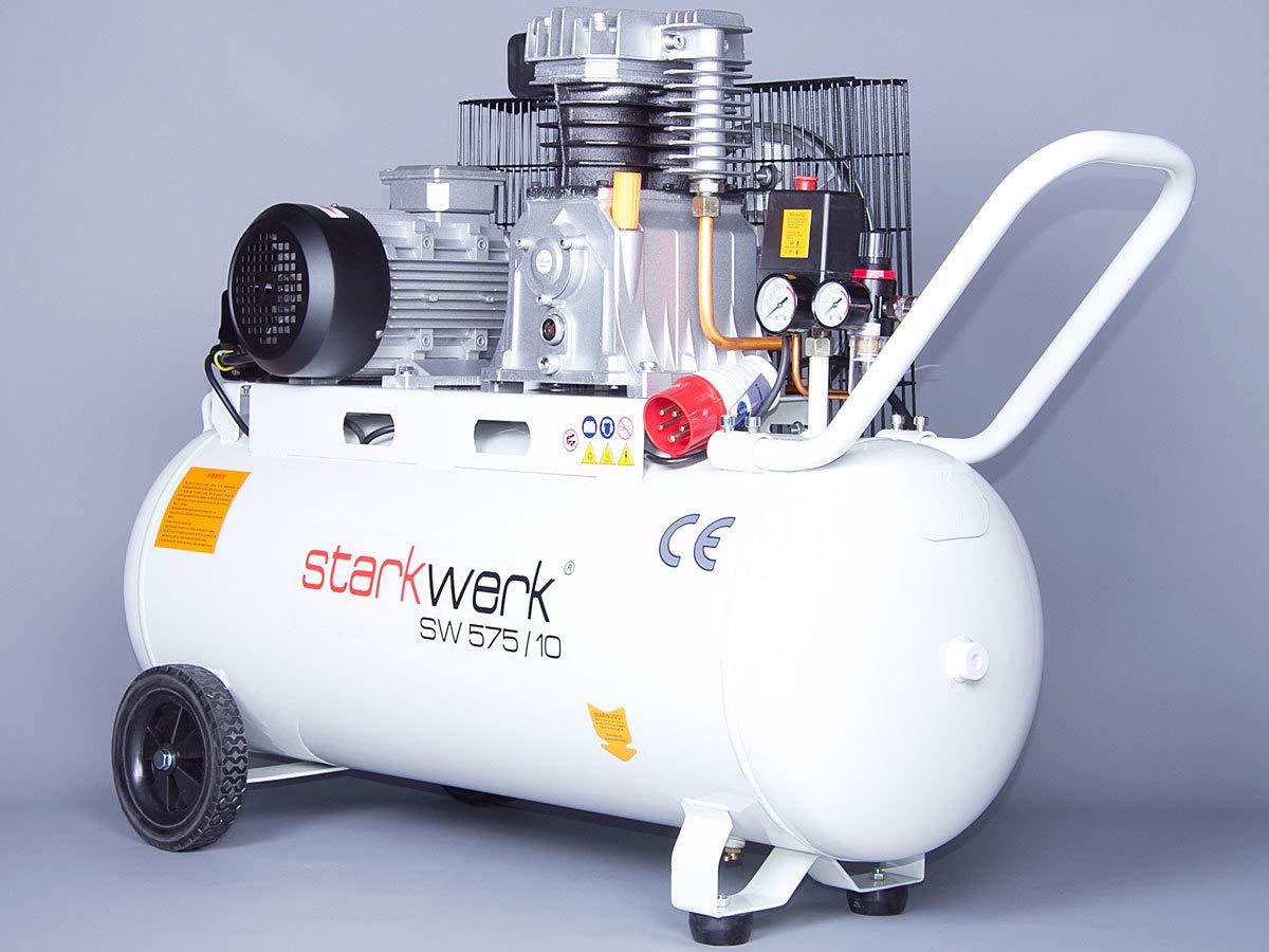 Starkwerk SW 575/10-100L - Compresor de aire a presión ...