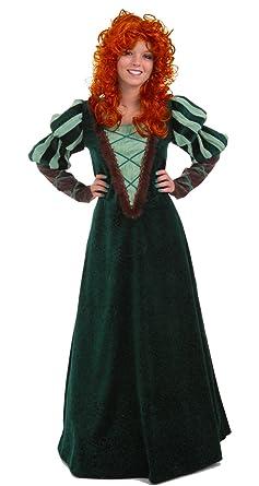 Amazon.com  Largemouth Women s Forest Princess Brave Costume Dress ... 6c92cf2c6