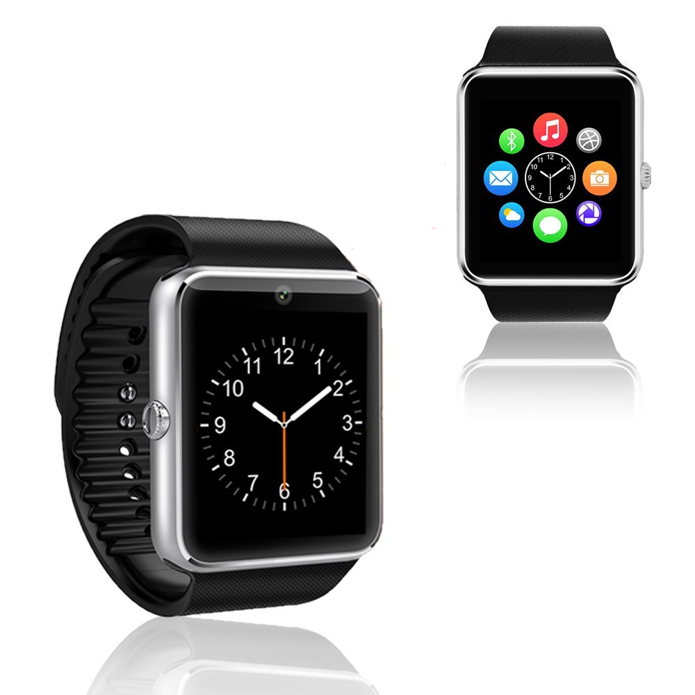 Indigi GT8 Smartwatch and Phone GSM Unlocked + Bluetooth Sync 2-in-1 Watch Phone Camera Bluetooth 3.0