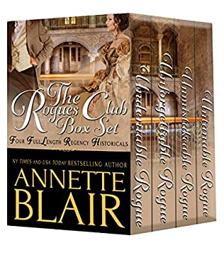 book cover of The Rogues Club Boxed Set