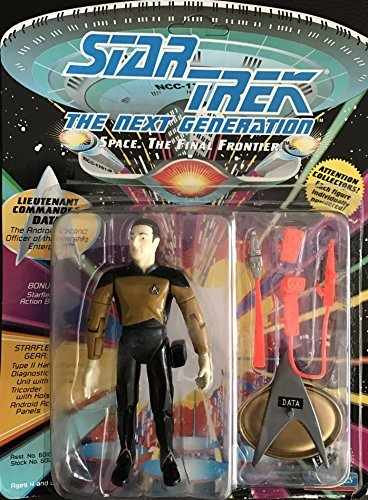 Lt Commander Data Star Trek TNG Action Figure