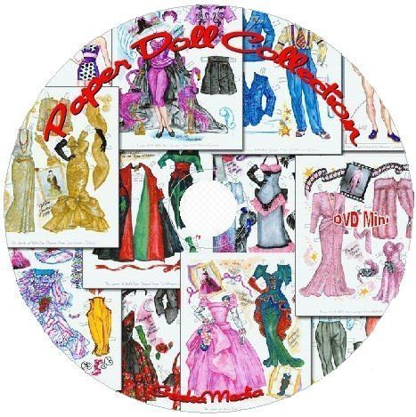 Paper Dolls Vintage Collection: Thousands of Paper Doll Images D100 -