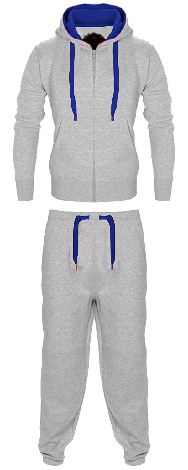 Vanilla Inc New Boys Junior Hooded Tracksuit Track Suit Kids Full Zip Jogging Top Bottoms Football Boxing Martial Art Exercise Fitness Yoga Running Gym Clothing United Kingdom