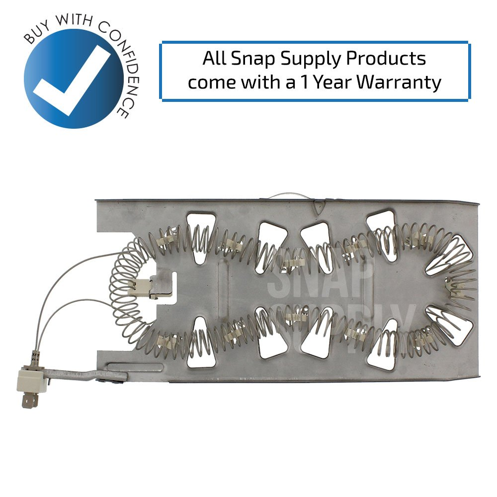 Amazon.com: Snap Supply Dryer Element for Whirlpool Directly Replaces  3387747: Home Improvement