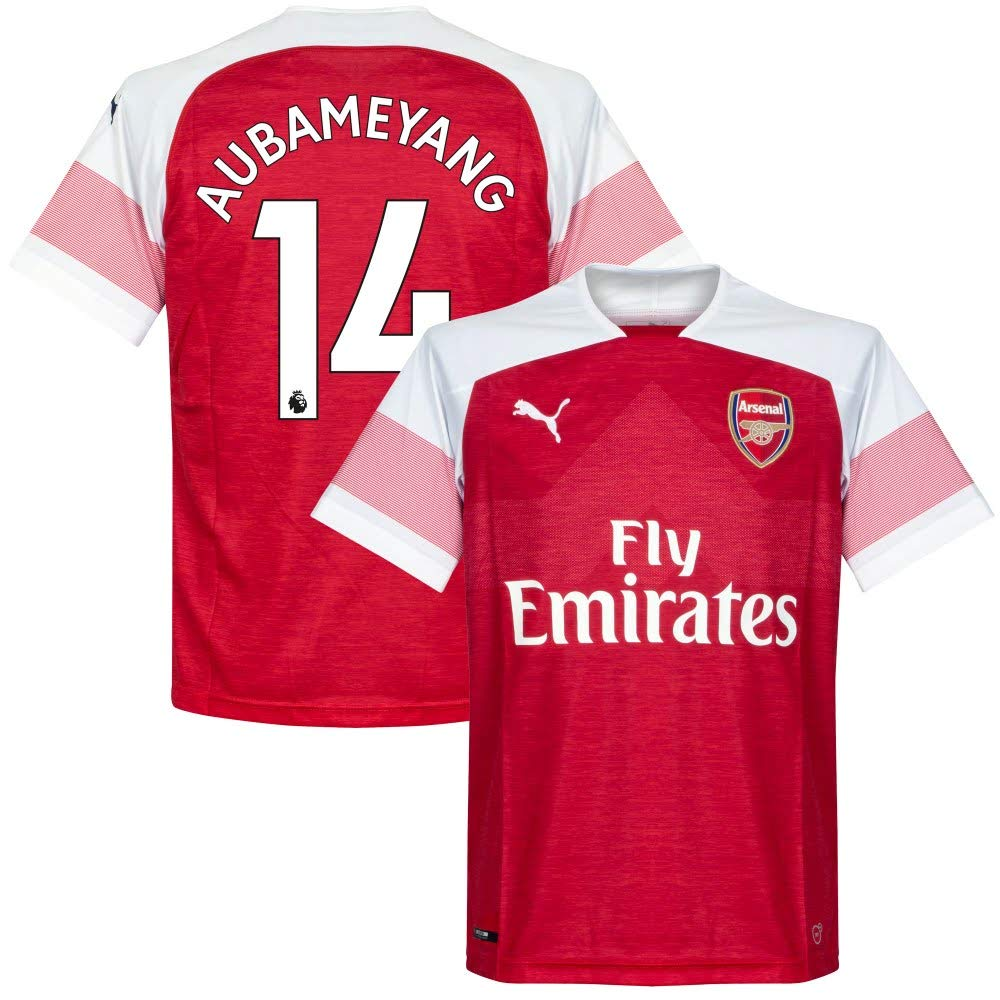 Arsenal Home Trikot 2018 2018 + Aubameyang 14