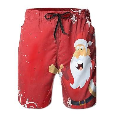 9da18373ae Clothing, Shoes & Jewelry Boys Summer Swim Trunks Beach Shorts Christmas  Santa Claus Quick Dry Swim Trunks
