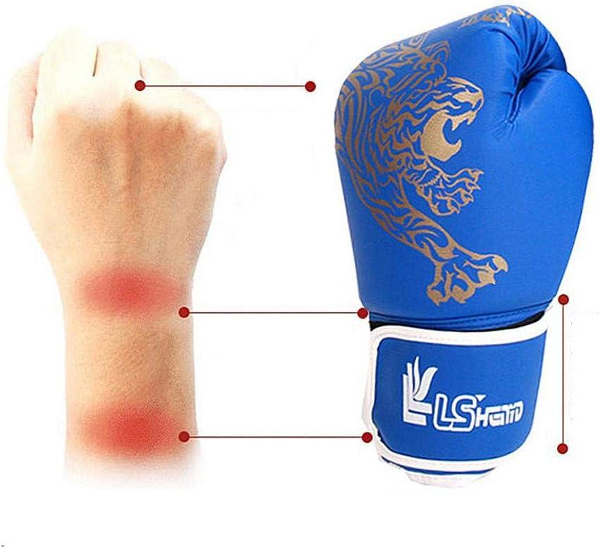 Haodene Guantes De Boxeo para Adultos//ni/ños MMA Saco De Boxeo Sparring Artes Marciales Muay Thai Y Kick Boxing Guantes De Boxeo para Entrenamiento