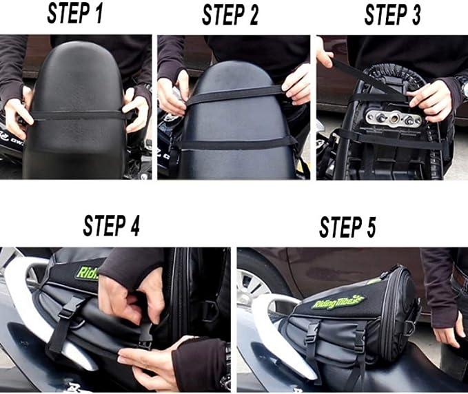 Greyghost Satteltasche Wasserdicht Für Den Rücksitz Auto