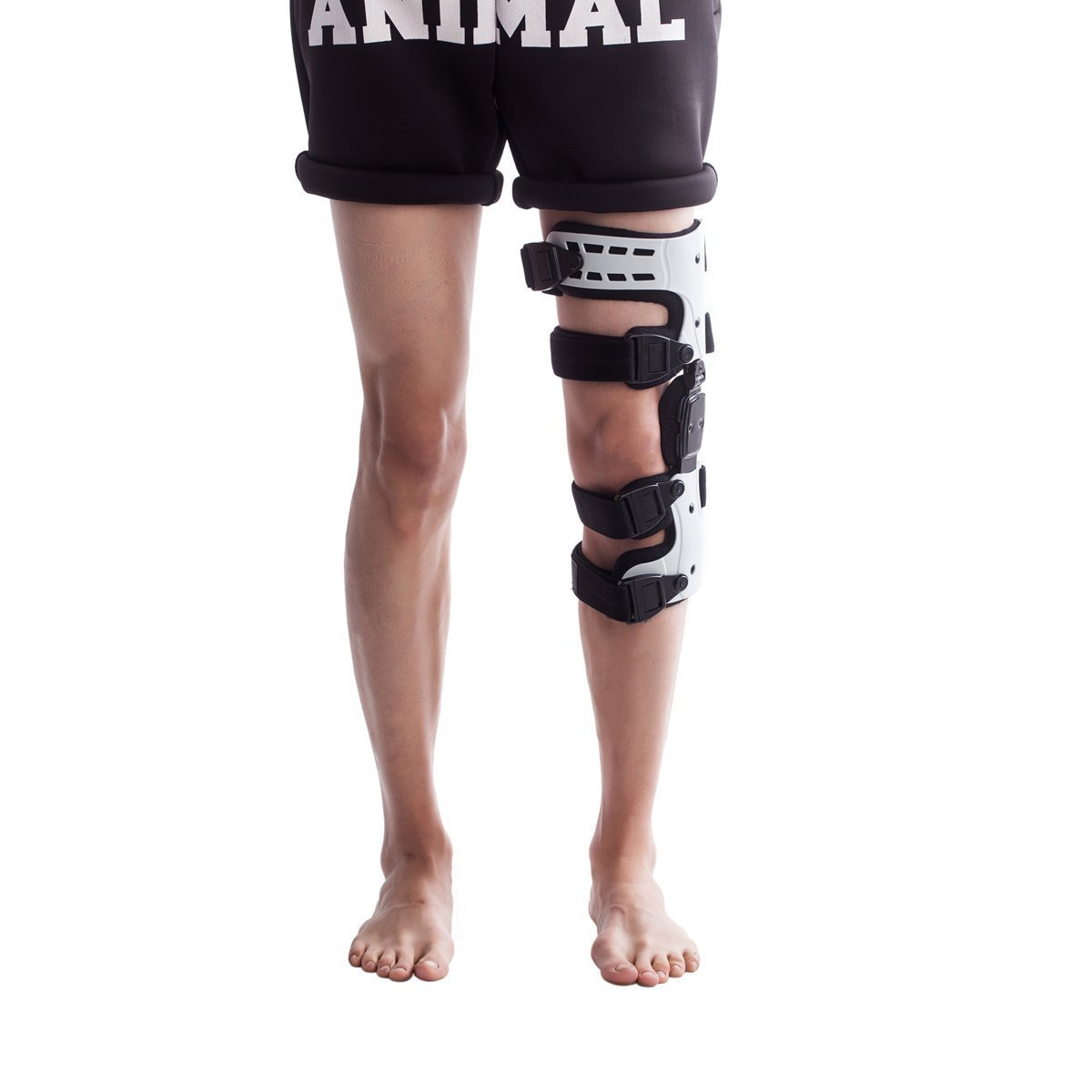 Orthomen OA Unloading Knee Brace for Osteoarthritis – Bone on Bone - Lateral Support - Size: Universal/Left by Orthomen (Image #2)