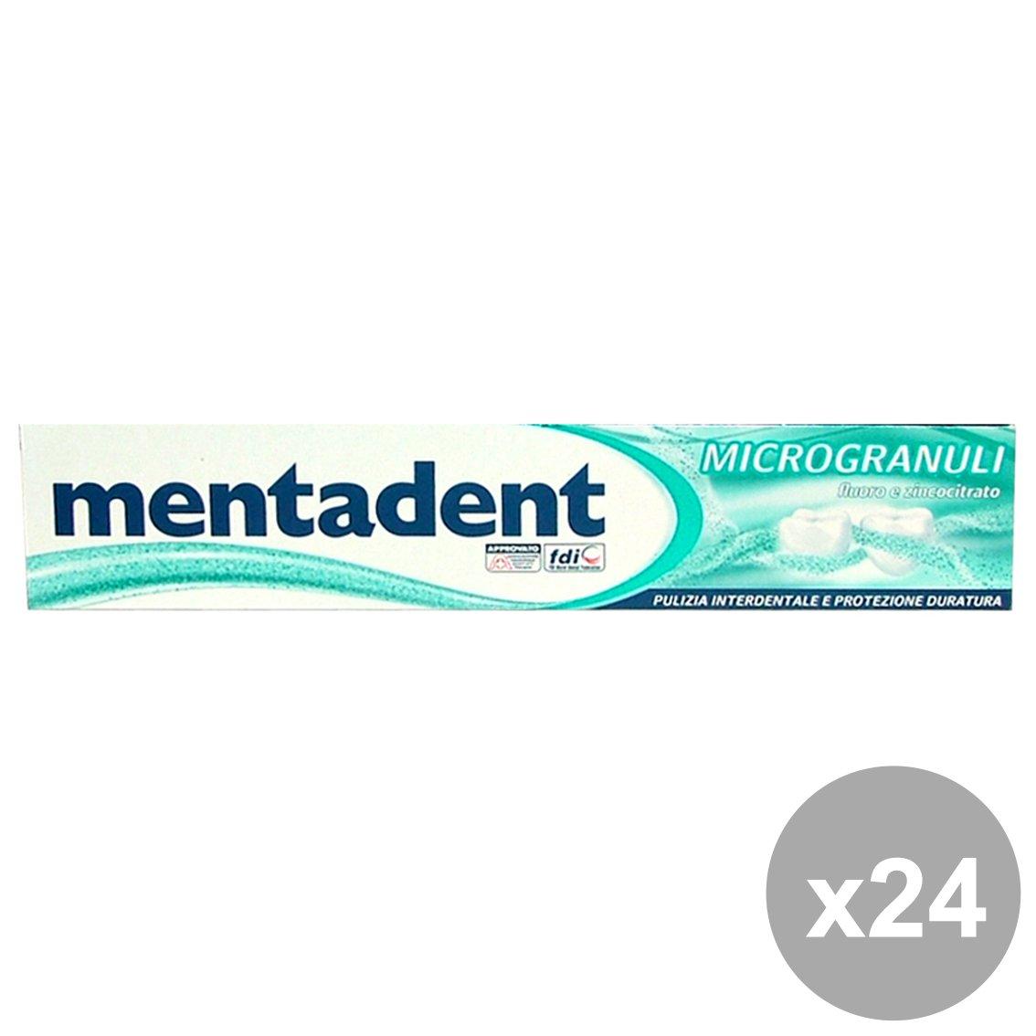 Set 24 MentaDENT Dentifricio MICROGRANULI 75 Ml. Hautpflege