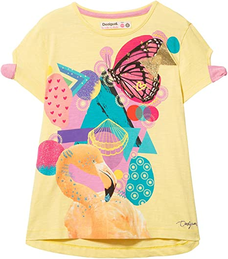 Desigual Girl Knit T-Shirt Short Sleeve (