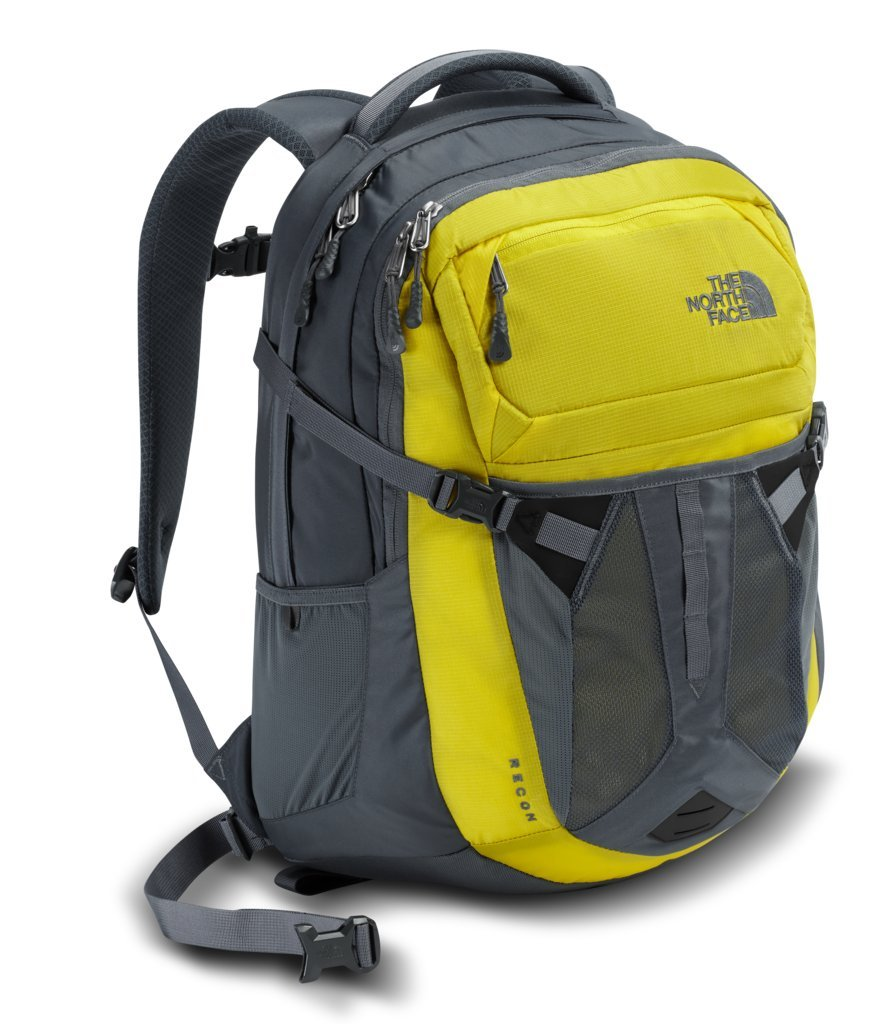 The North Face Recon Backpack - Acid Yellow & Turbulence Grey - OS (Past Season)
