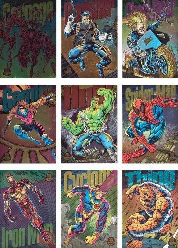 1994 Fleer Marvel Universe Series-V New Complete 9-Card R...