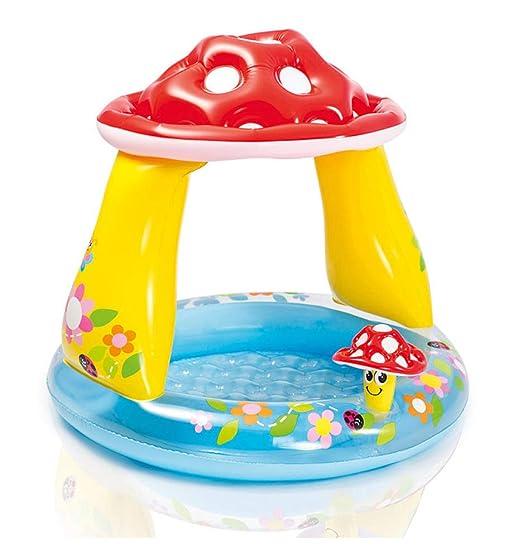 FLY FLAP Piscina Bebe Hinchable Parasol,40x35cm Swimming Pool para ...