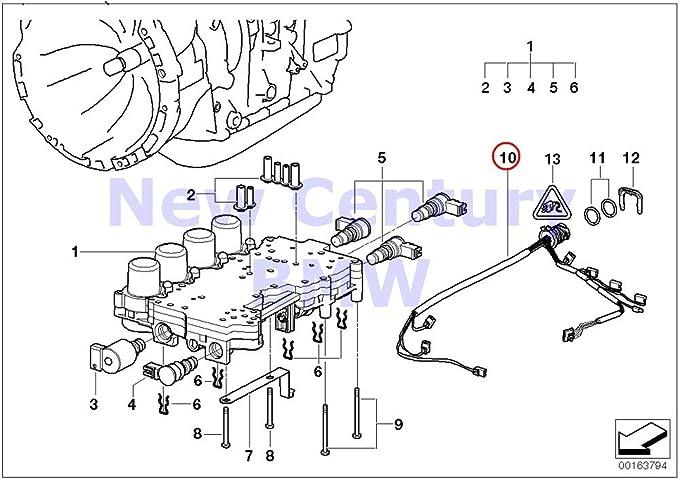 Amazon Com Bmw Genuine Automatic Transmission Wiring Harness With Temperature Sensor 525i 530i 325ci 325i 325xi 330ci 330i 330xi X5 3 0i X3 2 5i X3 3 0i Z3 2 5i Z3 3 0i Automotive