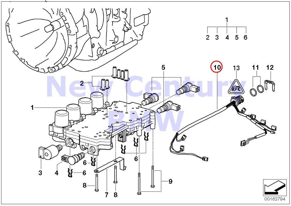 amazon com bmw genuine automatic transmission wiring harness withbmw genuine automatic transmission wiring harness with temperature sensor 525i 530i 325ci 325i 325xi 330ci 330i 330xi x5 3 0i x3 2 5i x3 3 0i z3 2 5i z3 3 0