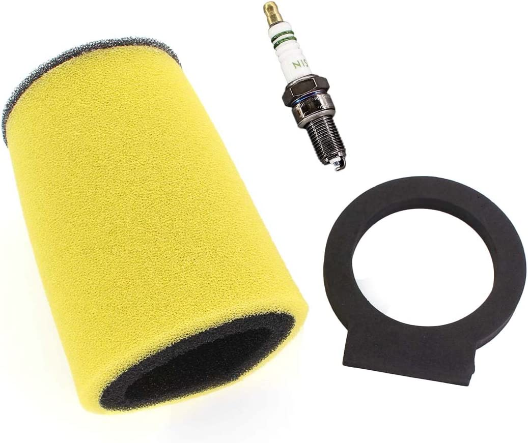 USPEEDA Air Filter Spark Plug For Yamaha Timberwolf 250 Big Bear 350 Moto-4 250 350 Kodiak 400 # 1YW-14451-00-00