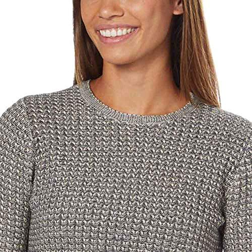8646ee29186de Jeanne Pierre Women s Fisherman Cable-Knit Sweater at Amazon Women s  Clothing store