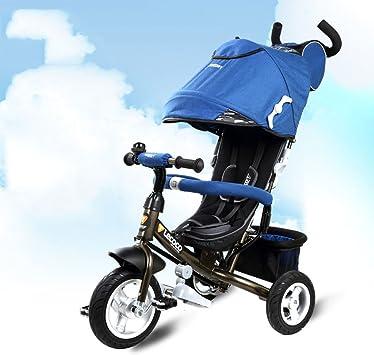 LYYBIKES Niños Triciclo, 1-3 años de Edad Multifunción bebé ...