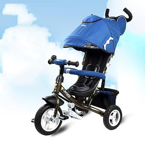 Niños triciclo, 1-3 años de edad Multifunción bebé bicicleta Carrito bebé carro de