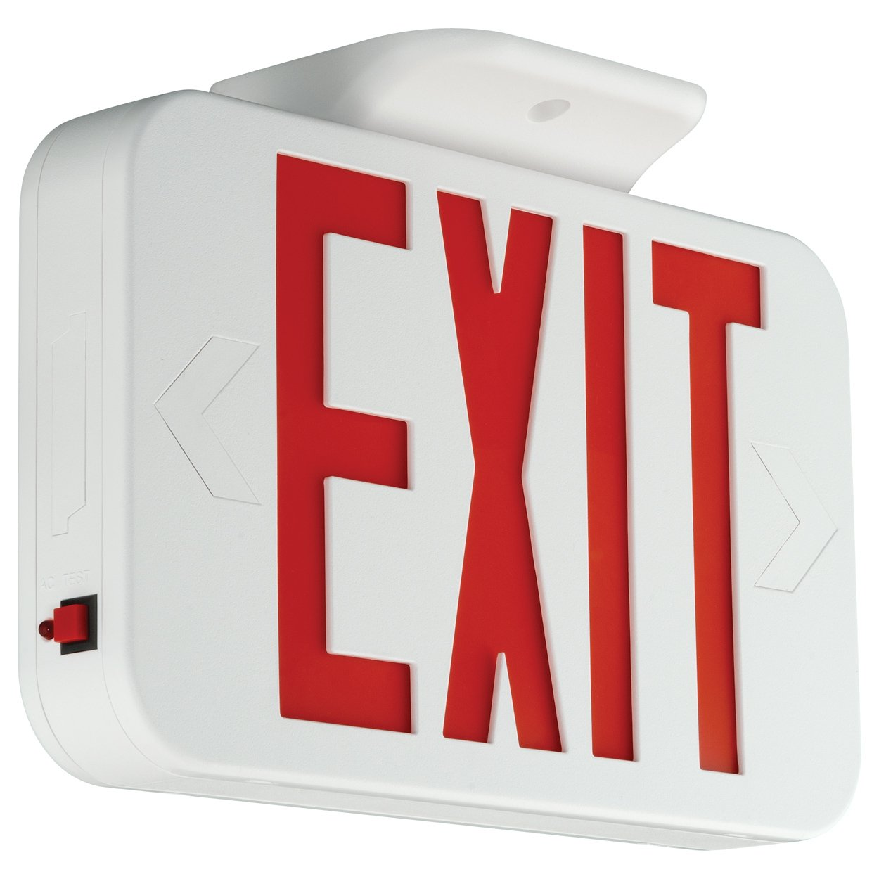 Compass CERRC Hubbell Lighting LED Emergency Exit Sign with Remote Capacity by COMPASS