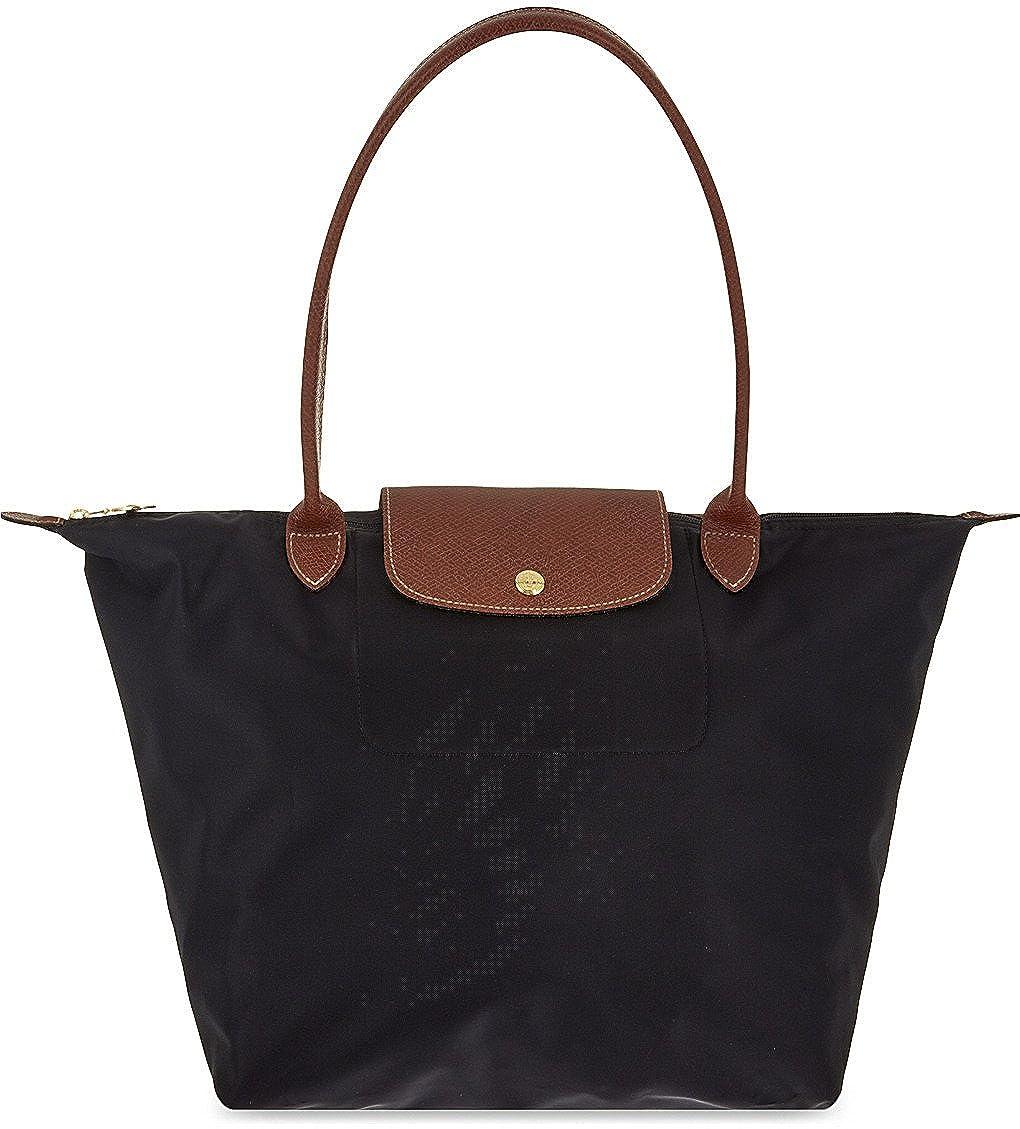 9529b22824f Longchamp Le Pliage Large Tote Bag (Black): Amazon.co.uk: Clothing