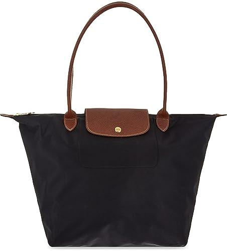 starke verpackung gut aussehend Premium-Auswahl Longchamp Le Pliage Schwarze große Taschen-Tasche: Amazon.de ...