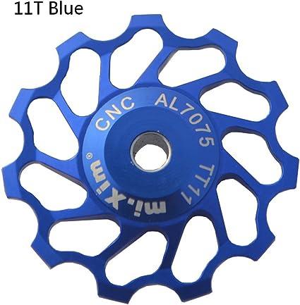 1 pc 11T Rear Derailleur Pulley Ceramic Bearing Jockey CNC Wheel for Shimano
