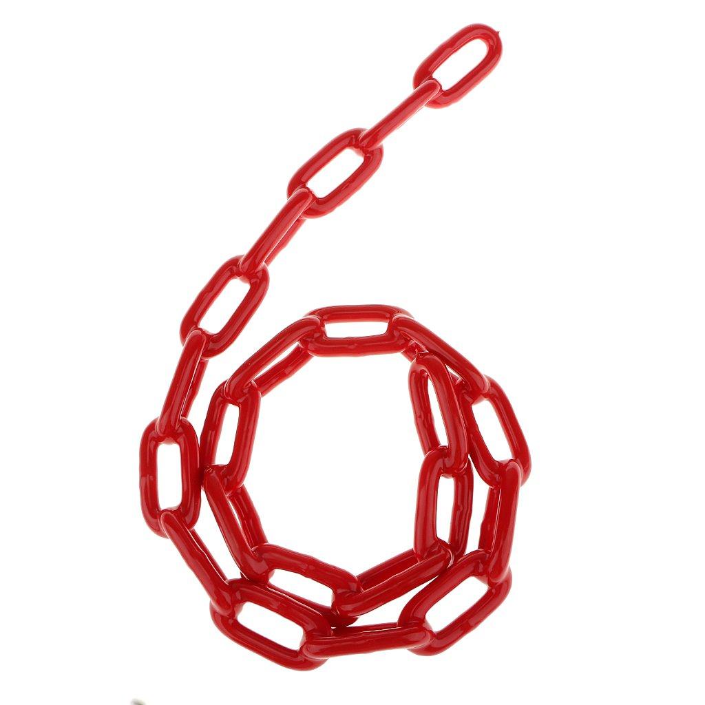 0.8m Chaîne de Balançoire Chaîne Support Durable Accessoire de Swing pour DIY - Rouge, 140 Generic
