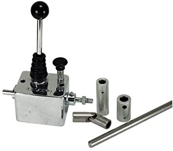 EMPI 16-2106 EMPI Chrome Super Shifter w/ Linkage for Rear Engine - VW Dune  Buggy Bug Ghia Thing Bus Baja