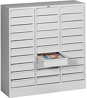 Amazon.com: Tennsco 30-drawer Gabinete – 30 – 7/8 x14 – 1/2 ...